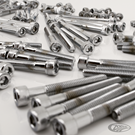 CHROME PLATED ALLEN HEAD SCREWS ASSORTMENT