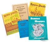 MANUALS AND SPARE PARTS CATALOGS FOR VINTAGE MODELS