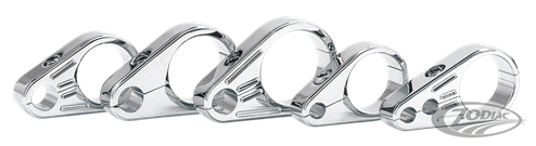 ZODIAC CHROME CABLE CLAMPS