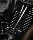 JIMS LOW PROFILE TAPPET COVERS FOR MILWAUKEE EIGHT