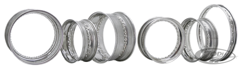 EUROPEAN MADE STAINLESS STEEL RIMS