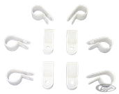 BRAKE LINE AND WIRE CLIPS