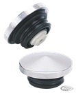 CHROME POINTED SCREW-IN GAS CAP