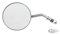 "LATE STYLE 4"" ROUND MIRROR"