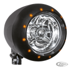 "5 3/4"" ALIEN BLACK HEADLIGHT"