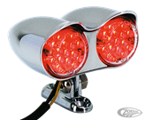 DUAL HI-GLIDE BULLET STYLE LED TAIL LIGHT