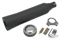 SUPERTRAPP BLACK UNIVERSAL RACE MUFFLERS