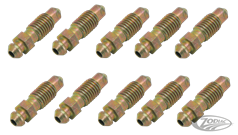 BRAKE CALIPER & WHEEL CYLINDER BLEEDER SCREWS