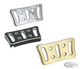 BILLET ALUMINUM BRAKE PEDAL PADS FOR TOURING MODELS