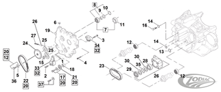 HYBRID CAM CHAIN PARTS FOR 1999-2006 TWIN CAM
