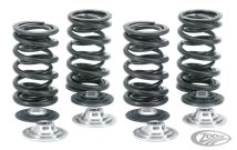 KIBBLEWHITE PRECISION MACHINING'S LIGHTWEIGHT RACE QUALITY VALVE SPRING KITS FOR HIGH LIFT CAMS