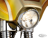 "ARLEN NESS FIRE-RING LED BEZEL FOR STOCK 7"" HEADLIGHTS"