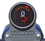 DAKOTA DIGITAL MLX-3000 SPEEDO WITH INTEGRATED TACHO