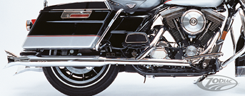 SLIP-ON MUFFLERS FOR TOURING