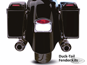 ARLEN NESS BAGGER & DUCK-TAIL REAR FENDER KITS FOR TOURING