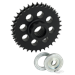 SOLID COMPENSATING SPROCKET FOR TWIN CAM