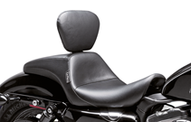 LE PERA OUTCAST WITH BACKREST FOR SPORTSTER