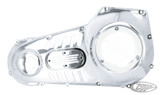 VENTED CHROME OUTER PRIMARIES FOR DYNA AND SOFTAIL