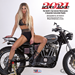 IRON & LACE CUSTOM MOTORCYCLE PIN-UP CALENDAR