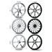 RC COMPONENTS FORGED ALUMINUM WHEELS