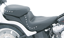 PASSENGER PADS FOR MUSTANG SOLO SEATS FOR SOFTAIL