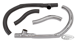 SAMWEL FRONT PIPES FOR 45CI MODELS