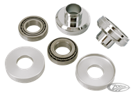 "STEERING HEAD 7/8"" TO 1"" ADAPTER CUPS WITH BEARINGS"