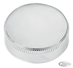 CHROME PLATED VENTED GAS CAP WITH LONG SKIRT
