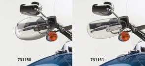 NATIONAL CYCLE HAND DEFLECTORS