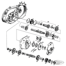TRANSMISSION PARTS FOR 4-SPEED SPORTSTER