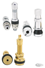 TUBELESS TIRE VALVES