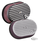 K&N STREET METAL OVAL AIR CLEANER FOR MILWAUKEE EIGHT