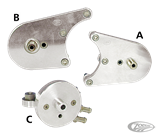 OIL FILTER BRACKET KITS FOR 4 SPEED MODELS AND ALL FRONT MOTOR MOUNTS