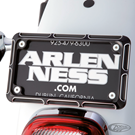 ARLEN NESS LICENSE FRAMES