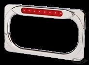 CADRE DE PLAQUE ARLEN NESS RADIUS LED