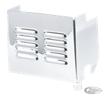 LOUVERED CHROME BATTERY COVERS