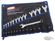 14-PIECE INCH SIZE COMBINATION WRENCH SET