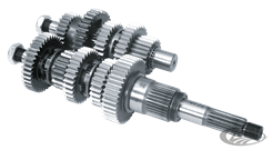 ZODIAC'S 5 SPEED BIG TWIN TRANSMISSION GEARS & SHAFTS SET