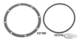 GASKETS FOR S&S 2-PIECE NOSE CONE COVERS