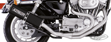 KERKER RACER'S LOOK EXHAUST SYSTEM FOR SPORTSTERS