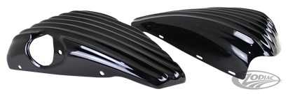 RIBBED FRAME COVERS FOR SPORTSTER