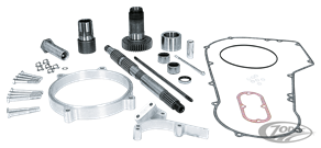 PRIMARY OFFSET KIT FOR 5 & 6 SPEED MODELS INCLUDING DYNA & SOFTAIL