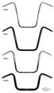 WESTLAND CUSTOMS ONE INCH DIAMETER NARROW APE HANGERS