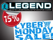 15% OFF ALL LEGEND AIR PRODUCTS