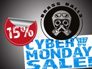 15% OFF ALL BRASS BALLS PRODUCTS